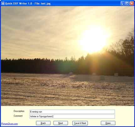 Windows 7 Quick EXIF Writer 3.0 full